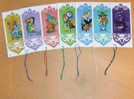 Pokemon: bookmarks by Oggey-Boggey-Man