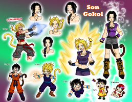 DBZ OC Profile by zoro4me3