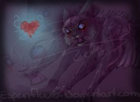 iNSaniTY Ashfur Frozen Heart -Speedpaint- by Espenfluss