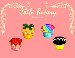 Chibi Bakery Cupcakes -Batch2- by Tennessee11741