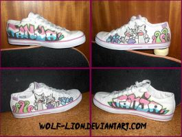 Shoe Design for my Sister by wolf-lion
