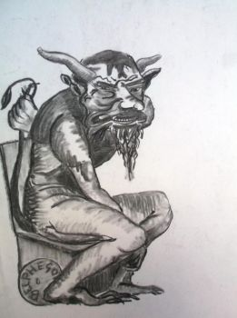 Charcoal 61 Demon by hofku43