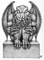 Cthulhu Idol by Dan-Moran
