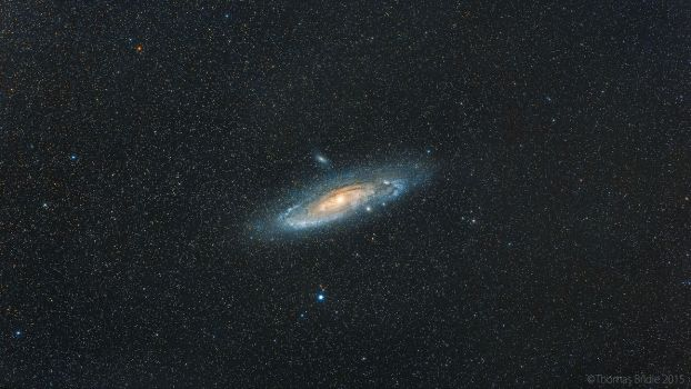 The Great Andromeda Galaxy by Captain-Marmote
