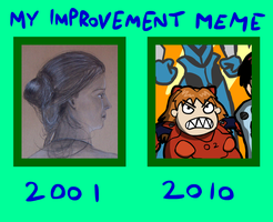 My Improvement Meme by Okk