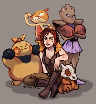 Team Cait by Momo-Deary