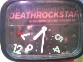 deathrockstar's clock by sampratot