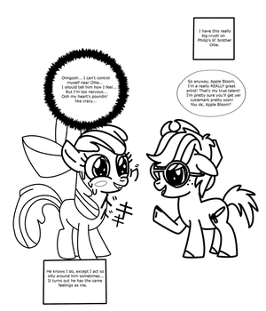 Pony Manga First Attempt by DefectiveStudios
