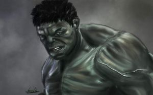 It's not easy being green by de-pilo-pendet