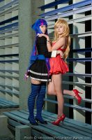 Panty and Stocking with Garterbelt by Emmaliene