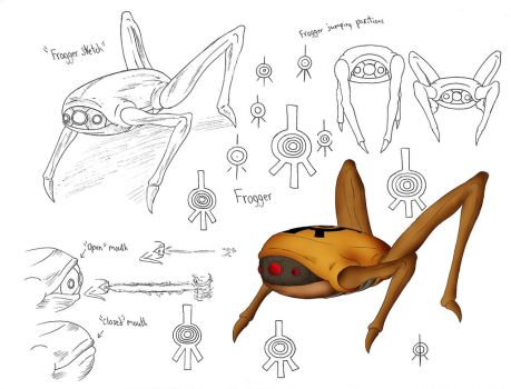 Frogger Concept Design by demongirl99