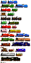 Thomas and Friends Animated Characters 1 by JamesFan1991