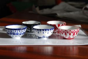 Tea Set 1 by TeeBeeJealousy