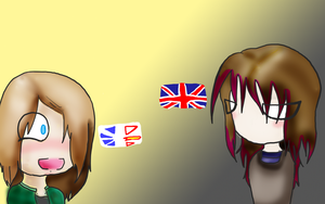 Flag Background by echi-chan1