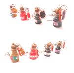 Handmade mini bottles sandwich,choco,peanut, berry by MiniSweetx