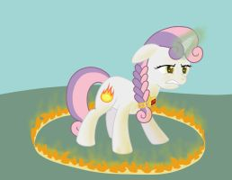 Pyromancer Sweetie Belle by Birdco