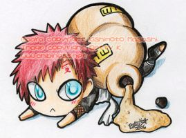 Chibi Gaara by BettyKwong