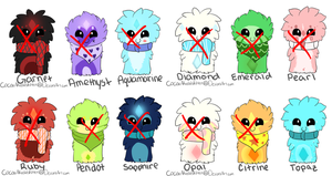 Scarfblob Adopts-Batch 3- CLOSED by xMissLight