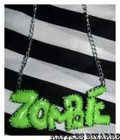 zombie necklace by prettyboyswearpink