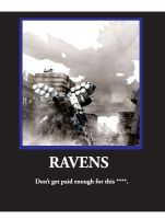 RAVENS Motivational Poster by FA26483