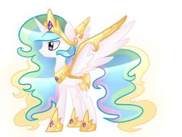 Princess Celestia (Epic Battle Form) by Le-Poofe