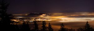 Vancouver in the Fog by KillerPotatoes