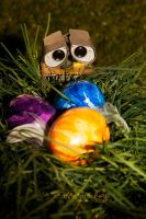 Easter eggs- Wall.E by strehlistisch
