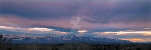 West of Cottonwood Heights Pan by houstonryan