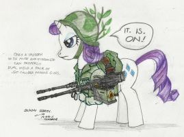 Weaponized Rarity by contrail09