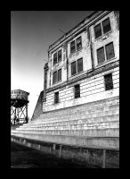 Cell Block and Water Tower by Leishy