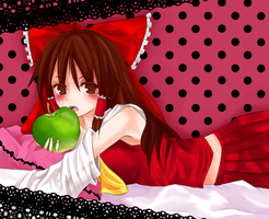 Touhou: Bad Apple by Haiyun