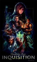 Dragon Age Poster Contest by ililaz