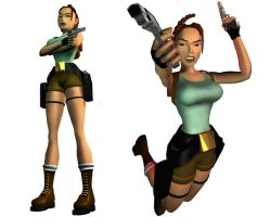 Lara Croft: original outfit (render version) by TanyaCroft