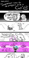 Nuzlocke Climaxes with Cats - Pettyartist by DragonwolfRooke