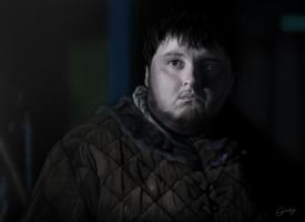 Samwell Tarly - Game of Thrones by gwinchy