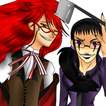 Phyc And Grell by darkevilmuffens-Jay