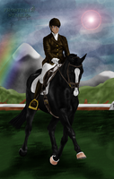 AWS dressage with Zephyr by Manoniii