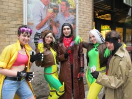 X Men About Town by Ruskicho