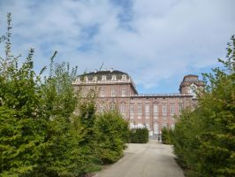 Royal Palace of Venaria - Park View 01 by XiuLanStock
