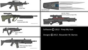 Military Weapon Variants 61 by Marksman104