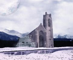 Frozen Palace landscape by duelord