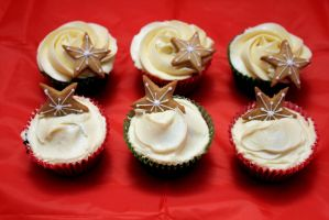 Ginger and Salted Caramel Cupcakes by PhotoBlossom
