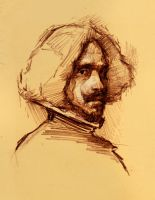 Velazquez sketch by SILENTJUSTICE