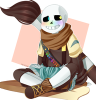 Inktale - Ink!Sans by NeykStar