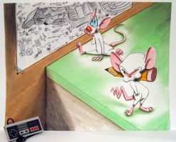 Pinky and The Brain by CreateDawn