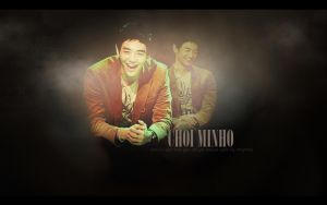 MinHo Wallpaper by NANAKiryu