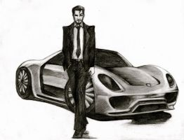 Mr. Tony Stark by Zorocan
