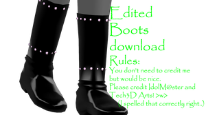 Edited Boots DL by DokieTaco
