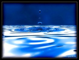 As Blue Water Drops by Thamyris71