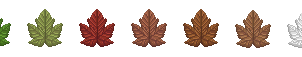 FREE USE: Sycamore Leaf On/Off Icons by pinemartenartin